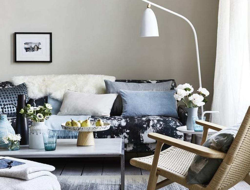 Wykończenie wnętrza w odprężającym, minimalistycznym stylu