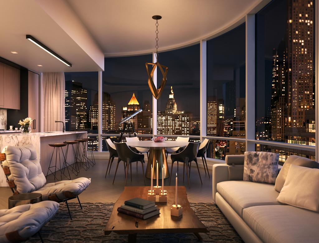 styl nowojorski - penthouse na Manhattanie | Imperium Wnętrz Kokotów 922