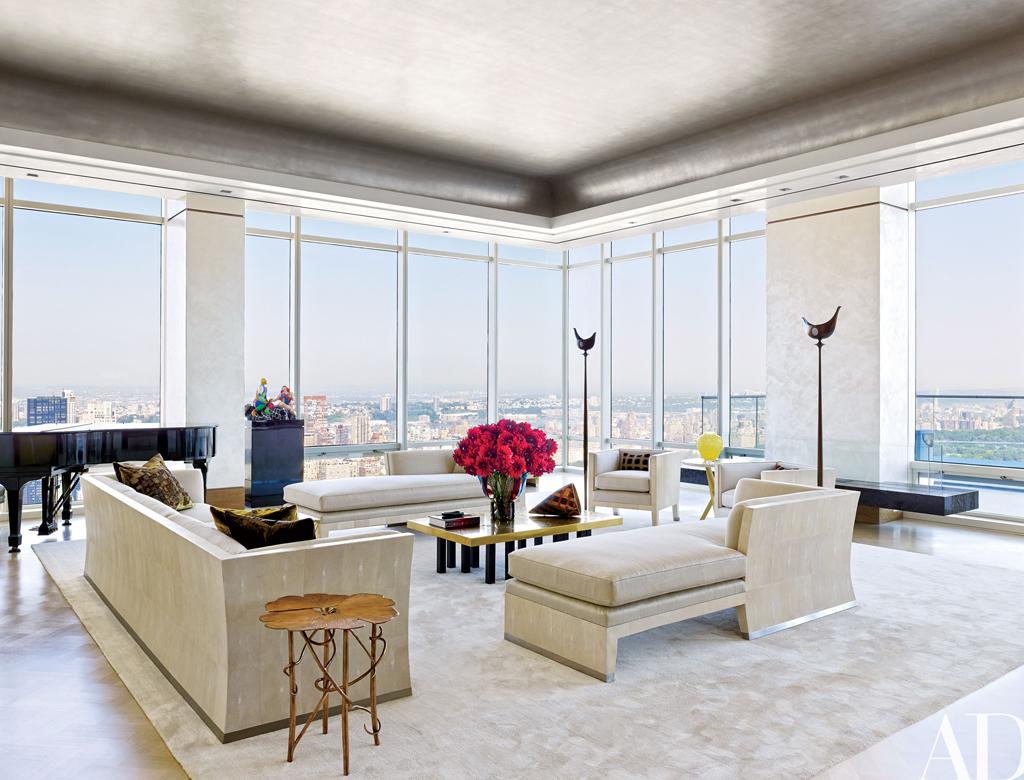 nowoczesny salon w stylu nowojorskim przy Central Park | Imperium Wnętrz Kokotów 922
