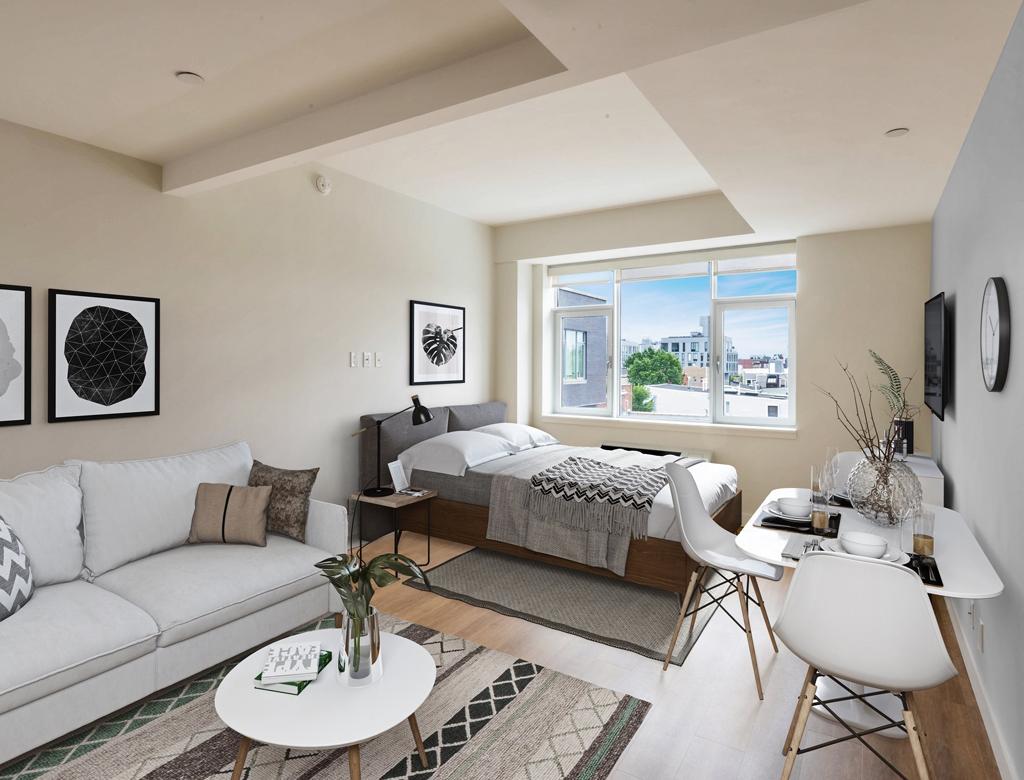 małe mieszkanie | styl nowojorski w Imperium Wnętrz Kokotów 922
