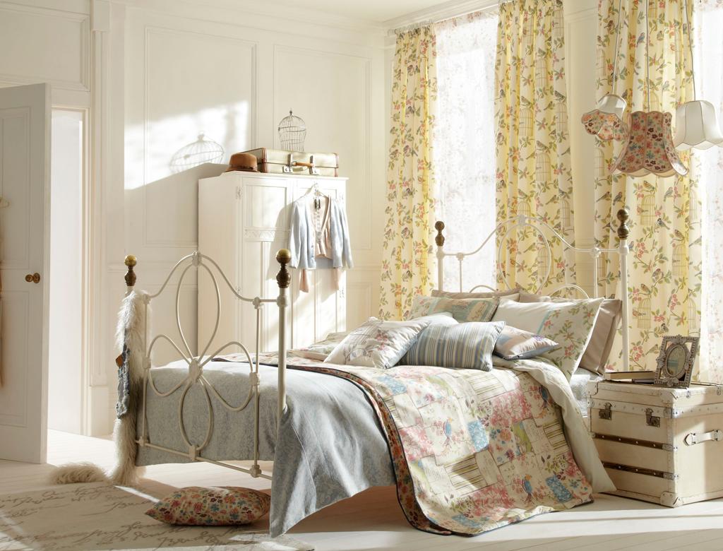 sypialnia w stylu modern shabby chic w Imperium Wnętrz Kokotów 922
