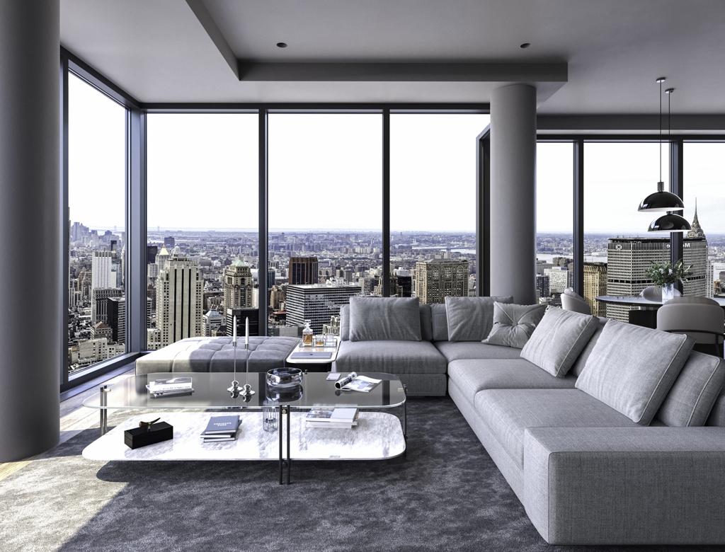 Penthouse na Manhattanie | styl nowojorski w Imperium Wnętrz Kokotów 922