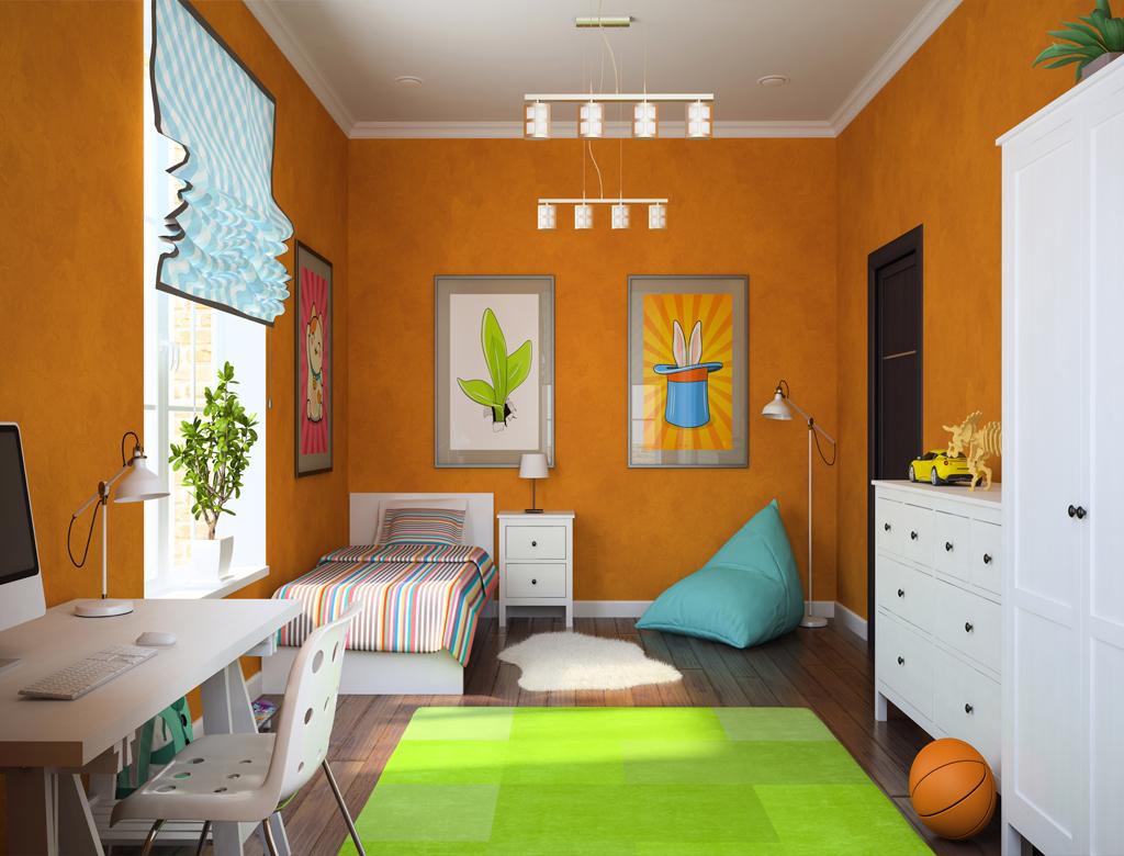 wykończenie pod klucz - aranżacja przestrzeni w pokoju dla dziecka | Imperium Wnętrz Kokotów 922