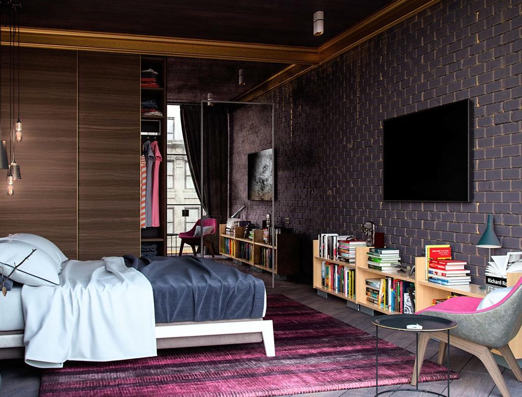 Wykoczenie sypialni w miejskim klimacie | Imperium Wnętrz Kokotów 922