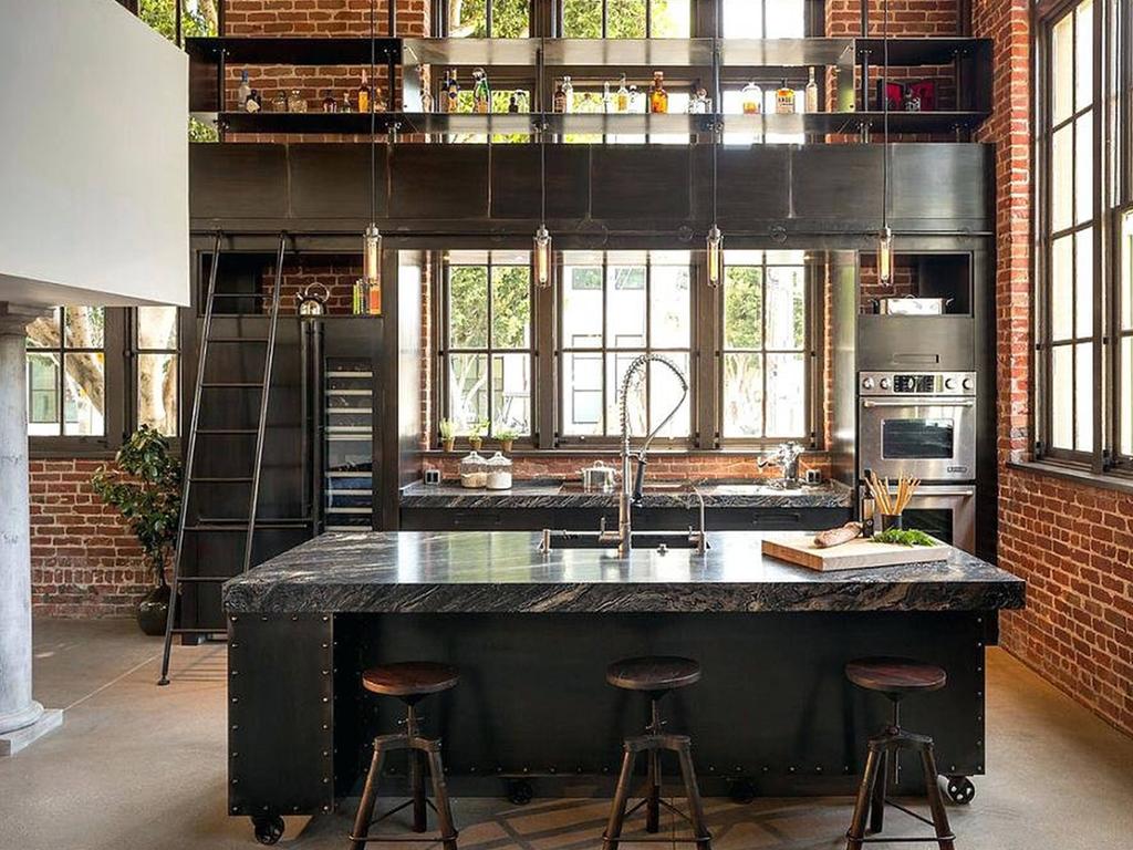 wykończenie kuchni w stylu loftowym   Imperium Wnętrz Kokotów 922