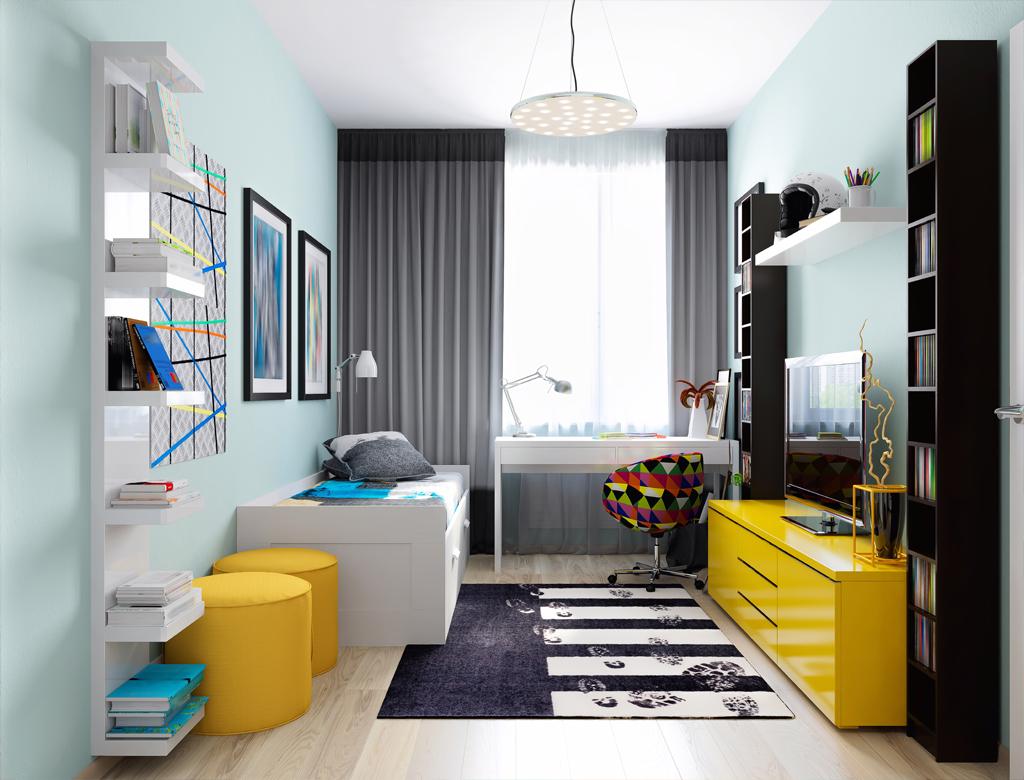 turnkey finishing - colorful playroom